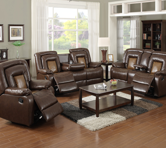 Cinema Sofa Set, Three piece sofa set