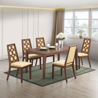 dining room, dining table and chairs