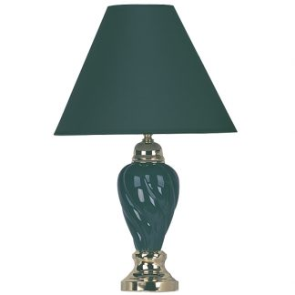 table lamp green