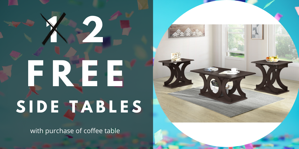 2 Free Side Tables